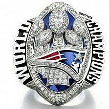 Buy 2016 2017 NFL New England Patriots LI Super Bowl Championship Copper ring Size 8-14