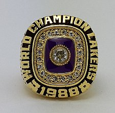 Buy 1988 Los Angeles Lakers NBA Basketball Championship Copper ring Size 8-14 Solid Gift