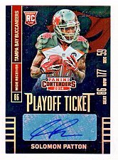 Buy NFL 2014 PANINI CONTENDERS SOLOMON PATTON AUTO RC /199 MNT