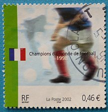 Buy Stamp France 2002 Football World Cup 1998 Champions Euro 0.46