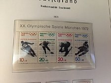 Buy Germany Olympic Winter Games s/s mnh 1971
