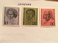 Buy Germany Famous persons mnh 1970