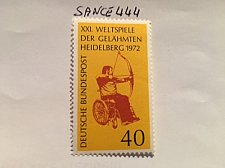Buy Germany Paralympics mnh 1972