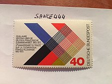 Buy Germany French-german co-operation mnh 1973