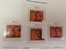 Buy Germany Famous women mnh 1974
