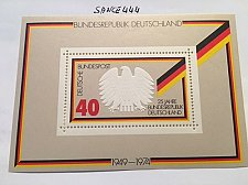 Buy Germany 25 years Republic s/s mnh 1974