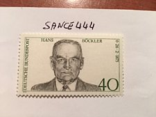 Buy Germany Hans Bockler mnh 1975