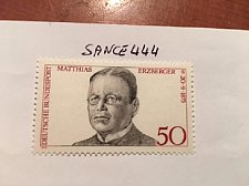 Buy Germany Matthias Erzberger mnh 1975