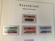 Buy Germany Youth Locomotives mnh 1975