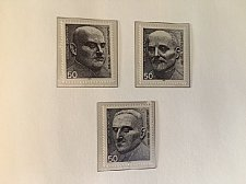 Buy Germany Peace Nobel prize winners mnh 1975