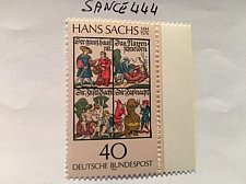 Buy Germany Hans Sachs mnh 1976