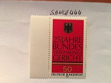 Buy Germany Federal court mnh 1976