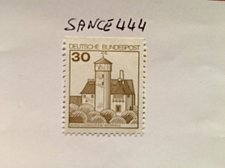 Buy Germany Definitives Castles 30p top imperf. mnh 1977