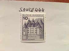 Buy Germany Definitives Castles 10p bottom imperf. mnh 1977