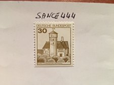 Buy Germany Definitives Castles 30p bottom imperf. mnh 1977
