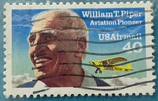 Buy Stamp USA United States of America 1991 William Piper, Aircraft Manufacturer with his