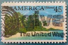 Buy Stamp USA United States of America 1990 Puas AMERICA - Tropical Coast 45c