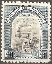 Buy Mozambique Company: Scott No. 158 (1925-31) MH