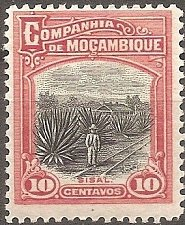 Buy Mozambique Company: Scott No. 126 (1918-1931) MH