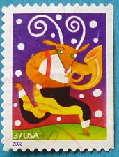 Buy Stamp USA United States of America 2003 Christmas Reindeer with Horn 37c
