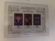 Buy Germany Jugendstil s/s mnh 1977