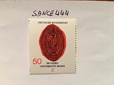 Buy Germany Mainz university mnh 1977