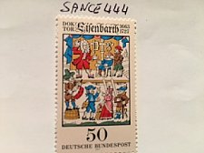 Buy Germany Johann Andreas Eisenbarth mnh 1977