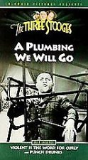 Buy The Three Stooges A Plumbing We Will Go VHS ~ 1994 ~ Brand New and Sealed