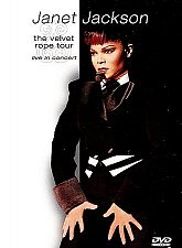 Buy JANET JACKSON The Velvet Rope Tour: Live in Concert DVD, 1999 Free Shipping