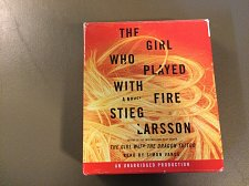 Buy THE GIRL WHO PLAYED WITH FIRE UNABRIDGED AUDIOBOOK ON CD BOOK
