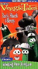 Buy VeggieTales - Rack, Shack, and Benny VHS 1998 A Lesson in Handling Peer Pressure