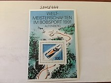 Buy Germany Bobsleigh World Cup mnh s/s 1991