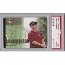 Buy 2001 UPPER DECK GOLF #97 David Duval Graded PSA 9