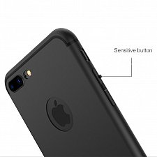 Buy Luxury Back Matte Soft Silicon Case for iPhone 7 and 7 Plus
