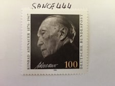 Buy Germany Dr.Konrad Adenauer mnh 1992
