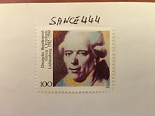 Buy Germany Georg Christoph Lichtenberg mnh 1992