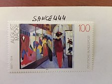 Buy Germany August Macke Painting mnh 1992