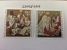 Buy Germany Christmas mnh 1992