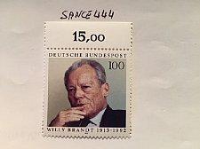 Buy Germany Willy Brandt mnh 1993