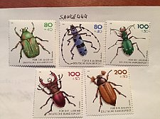 Buy Germany Youth Hostel Insects mnh 1993