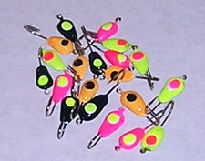 Buy 20 tear drop Ice jigs #10 hook