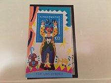 Buy Germany Children Clown s/s mnh 1993