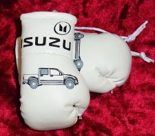 Buy Isuzu Pick-up Mini Boxing Gloves for rear view mirror