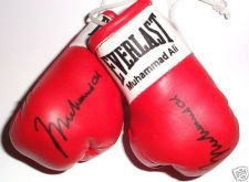 Buy Autographed Mini Boxing Gloves Muhammad Ali (The Greatest Boxer of all Time)