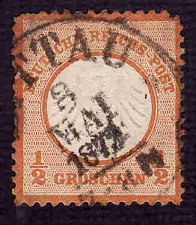 Buy German Used Scott #3a Catalog Value $47.50