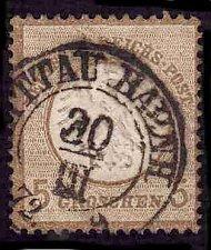 Buy German Used Scott #6 Catalog Value $85.00