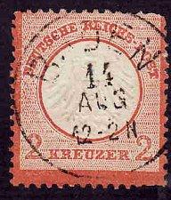 Buy German Used Scott #8a Catalog Value $285.00