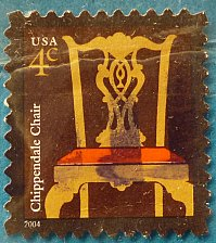 Buy Stamp USA United States of America 2004 American Design - Chippendale Chair - Self-Ad