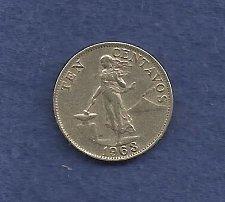 Buy Philipines 10 Centavos 1963 Coin