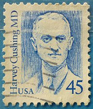 Buy Stamp USA United States of America 1988 Dr. Harvey Cushing 45c